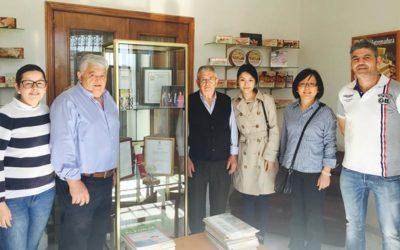 Visita de nuestros clientes de China